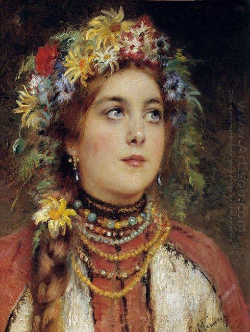 Russian Beauty In Summer Garland
