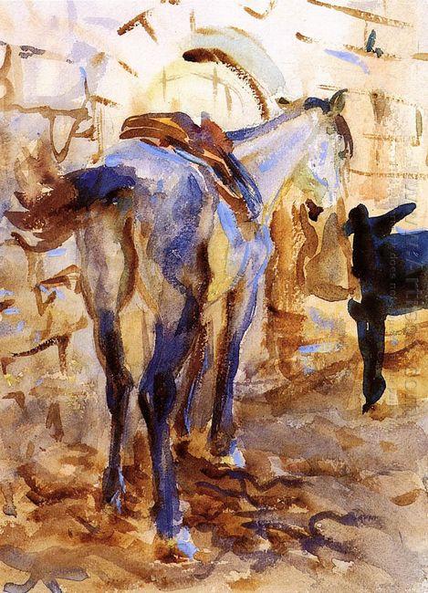 Saddle Horse Palestine 1905