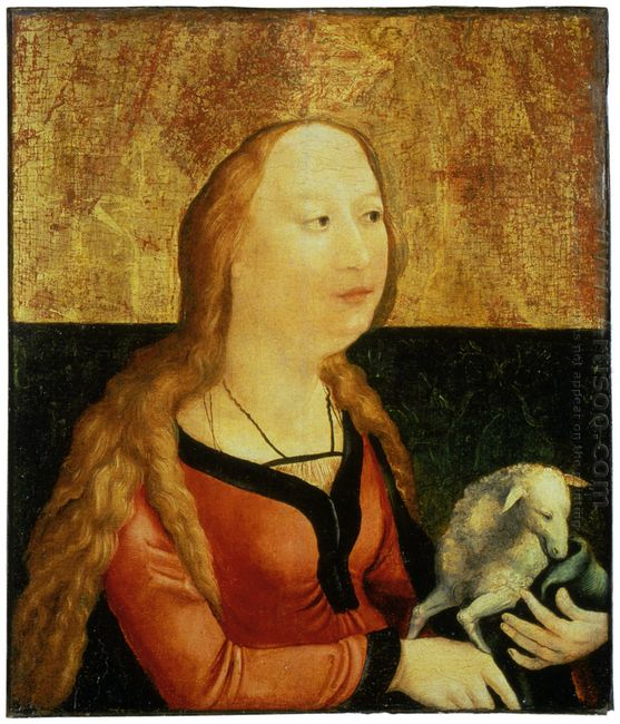 Saint Agnes Of Rome Coburg Panel