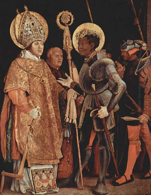Saints Erasmus And Mauritius 1523