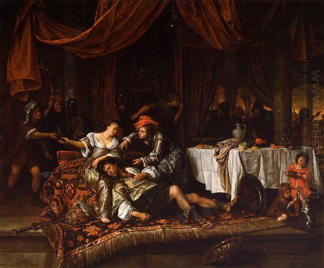 Samson And Delilah 1668