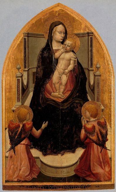 San Giovenale Triptych Central Panel 1423