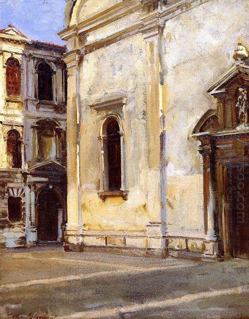 Santa Maria Del Carmelo And Scuola Grande Dei Carmini 1910