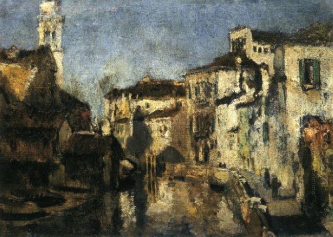 San Trovaso Square Venice