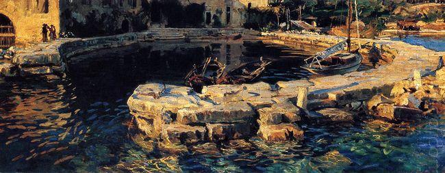 San Vigilio Lake Garda 1913