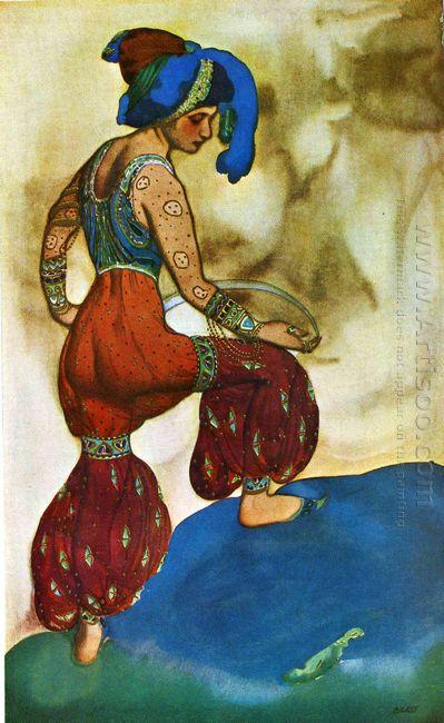 Scheherazade La Sultane Bleue 1910