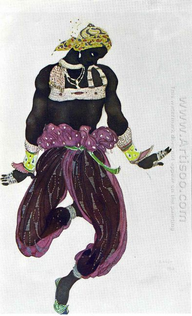 Scheherazade Negre Argent 1910