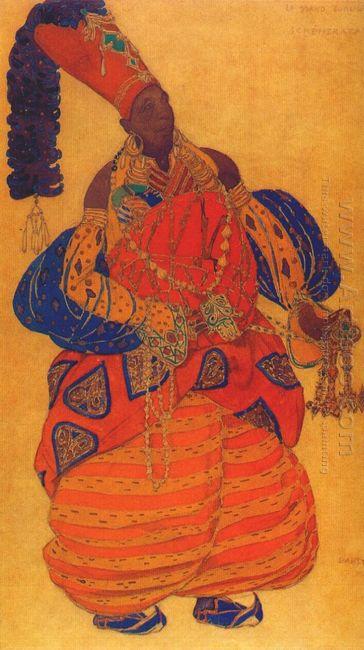 Scheherazade The Chief Eunuch 1910
