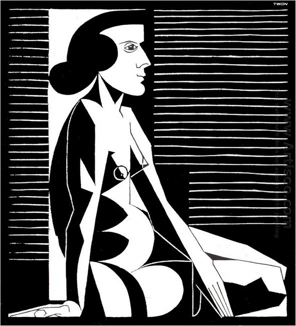Seated Female Nude Iii