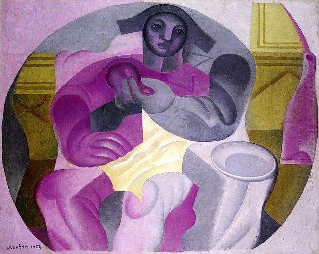 Seated Harlequin 1923