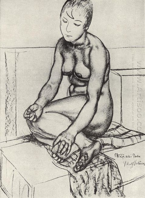 Seated Naturschitsa 1908