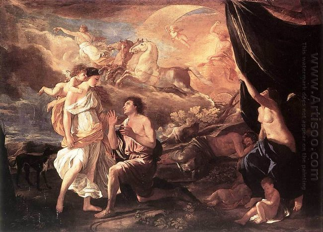 Selene And Endymion