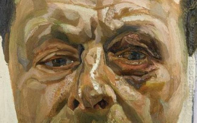 Self Portrait With Black Eye