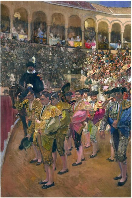 Seville The Bullfighters 1915