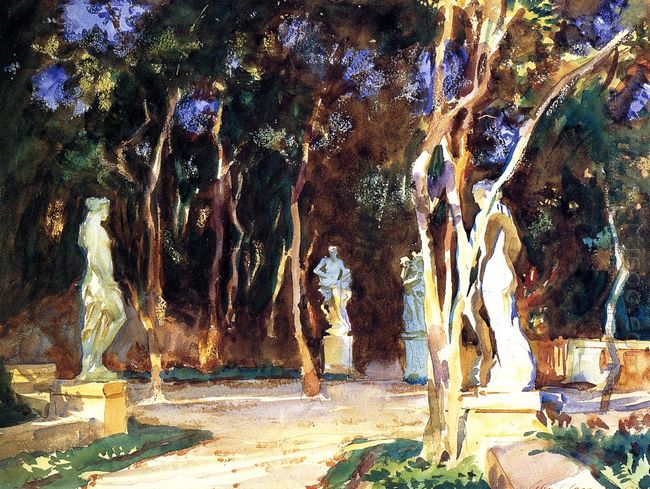Shady Paths Vizcaya 1917