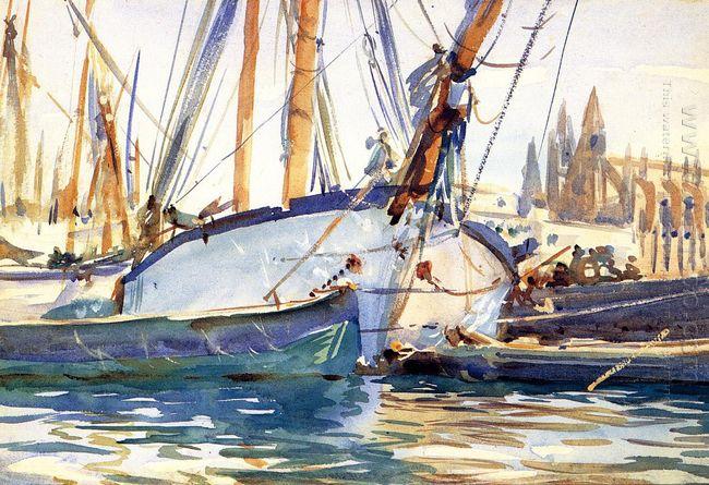 Shipping Majorca 1908