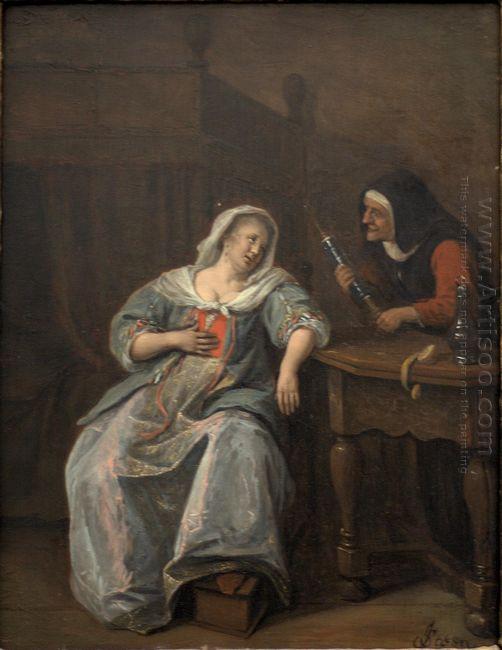 Sick Woman 1670