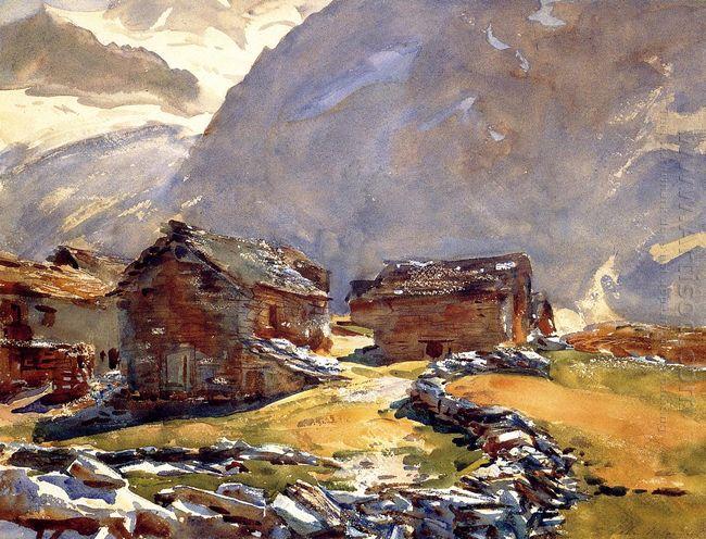 Simplon Pass Chalets 1911