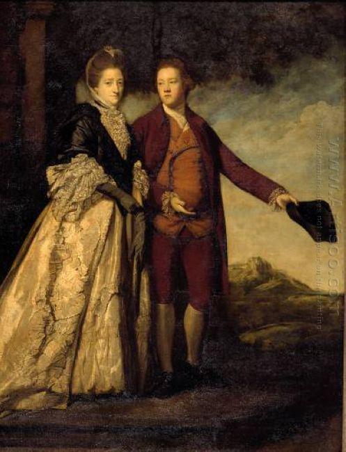 Sir Watkin Williams Wynn And His Mother 1769