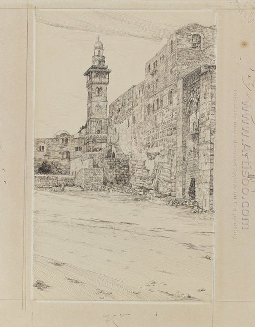Site Of The Antonia Tower 1889