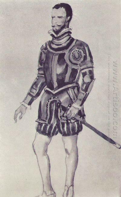 Sketch For Glinka S Opera Ivan Susanin Guest 1944