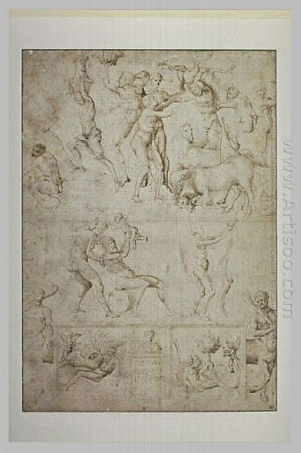 Sketch Of Figures And Scenes From The Antique Age
