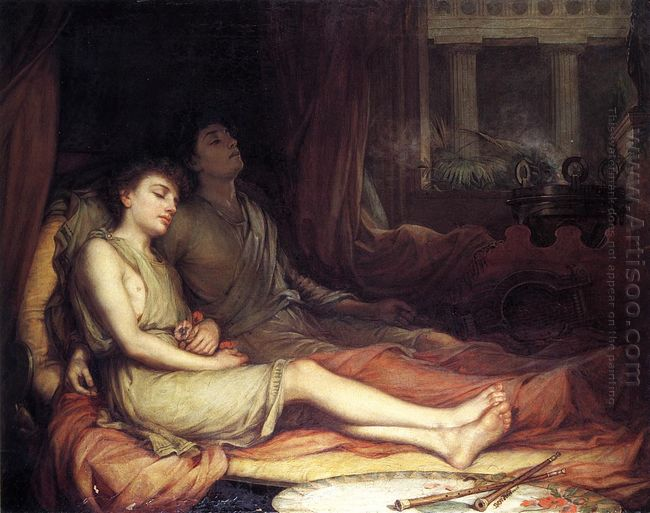 Sleep And His Half Brother Death 1874