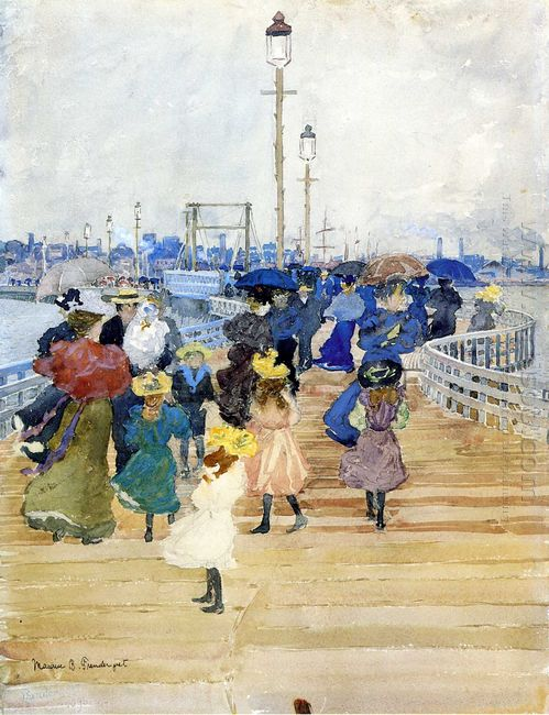 South Boston Pier Also Known As Atlantic City Pier 1896