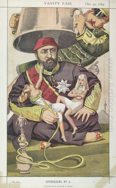 Sovereigns No 50 Caricature Of Sultan Abdul Aziz Of Turkey