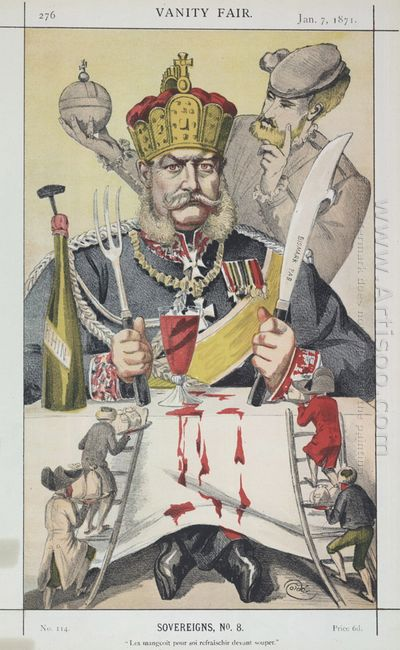 Sovereigns No 80 Caricature Of The King Of Prussi