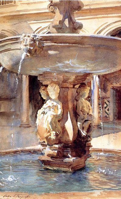 Spanish Fountain 1912
