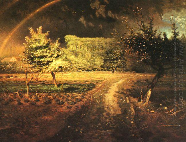 Spring At Barbizon 1873