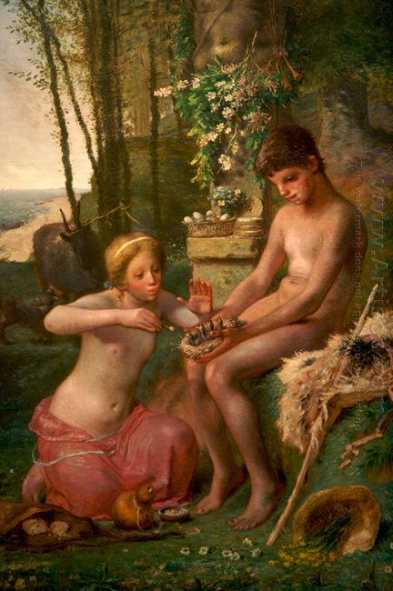 Spring Daphnis And Chloë 1865