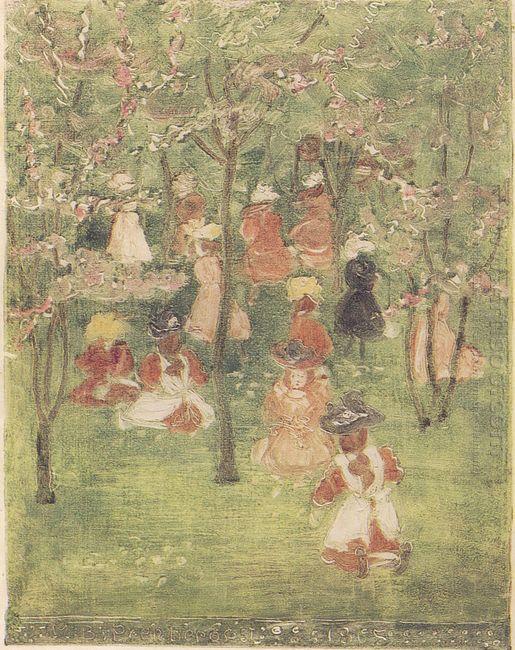 Spring In Franklin Park 1895
