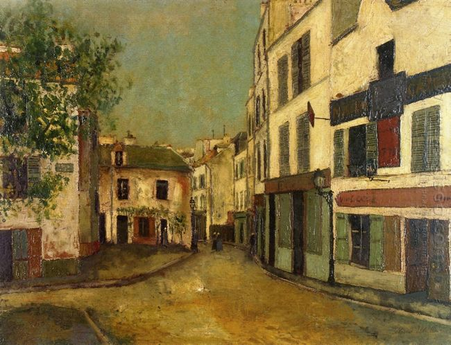 Square Tertre On Montmartre