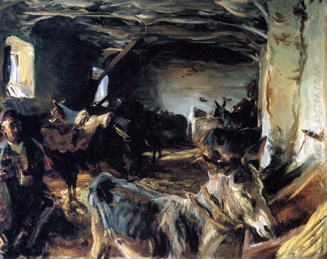 Stable At Cuenca 1903