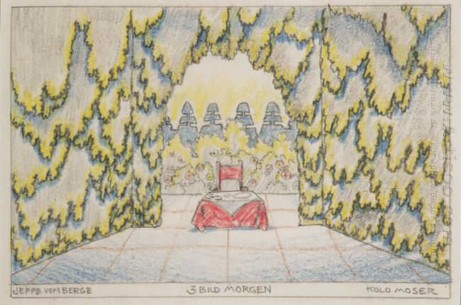 Stage Design For Jeep From The Mountain Of Louis Holzberg Stage