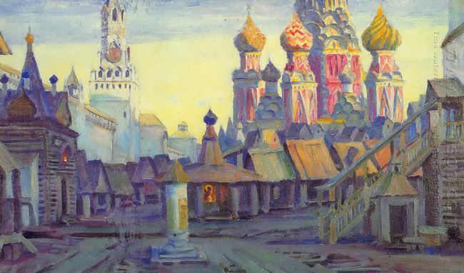 Stage Design For Mussorgsky S Opera Khovanshina 1940