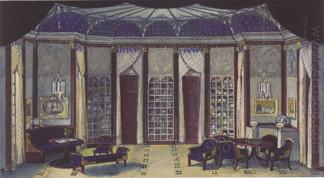 Stage Design For The Phantom Of Hermann Bahr 1913