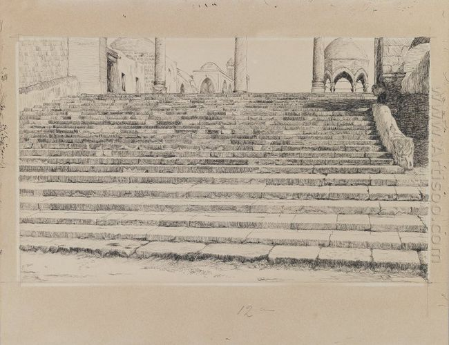 Staircase Of The Court Haram 1889