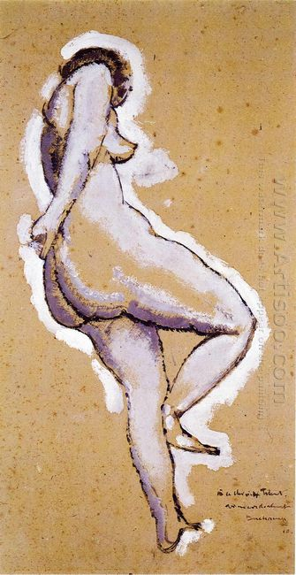 Standing Nude 1910