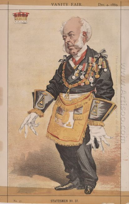 Statesmen No 370 Caricature Of Thomas Dundas 2Nd Earl Of Zetland