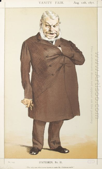 Statesmen No 910 Caricature Of Mr John Locke M P