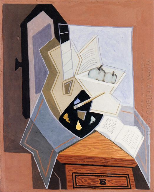 Still Life At The Open Windowq 1925