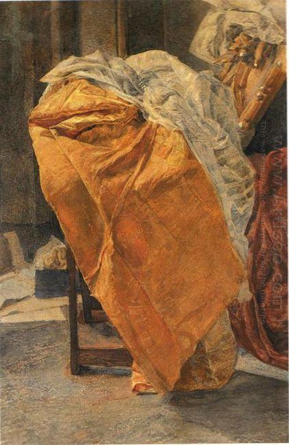 Still Life Fabrics 1884
