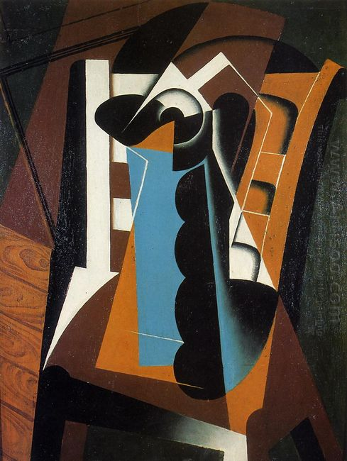 Still Life On A Chair 1917