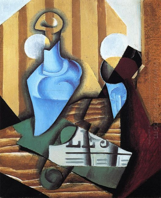 Still Life With Bottle And Glass 1914
