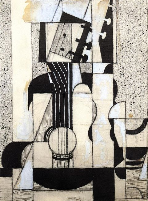Still Life With Guitar 1913