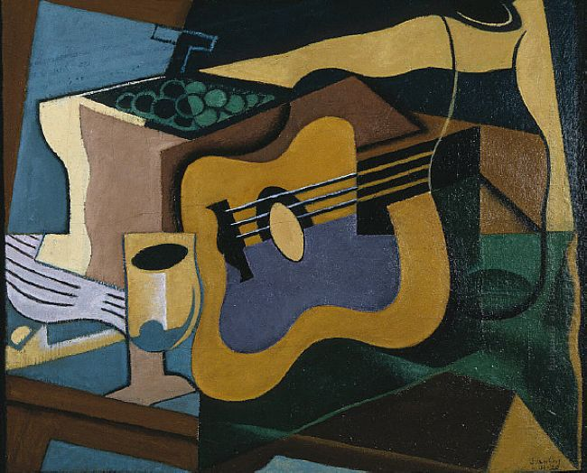 Still Life With Guitar 1920