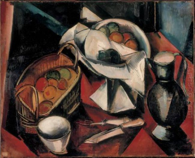 Still Life With Knife 1910